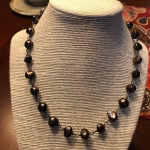 Silpada pearl necklace